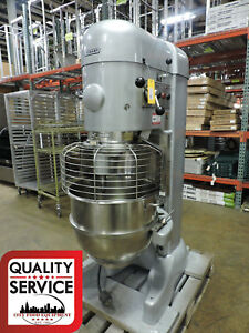 2002 Hobart M802 80 Quart Dough bakery panaderia Mixer With 80qt Bowl