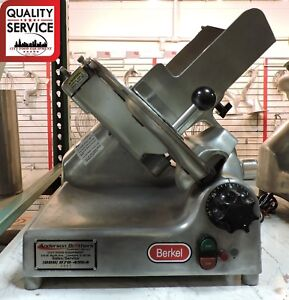 Berkel 909 Or 909 C 1 Commercial Gravity Feed Deli Meat Slicer