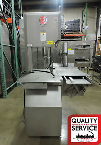 Biro 3334fh fixed Head 16 Food Processing Commercial Deli Meat Band Saw 3ph