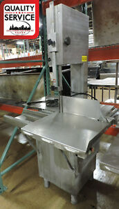 Torrey St 295 ai Commercial Stainless Steel Meat Band Saw 1 Ph 220v