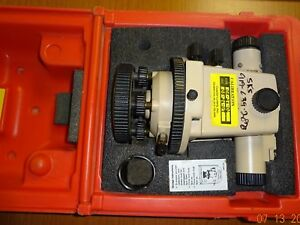 David White Lt8 300p Universal Optical Transit Level Survey With Case