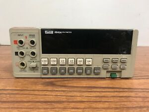 Fluke 8840a Dual Display Bench Multimeter for Parts