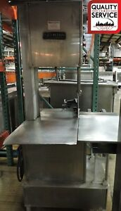 Westglen Butcher Boy 1640 Commercial Meat Saw 3 Ph 220v