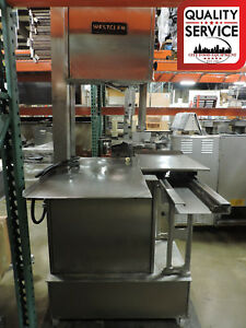 Westglen Butcher Boy Cobra 16 Commercial Meat Saw 3 Ph 220v