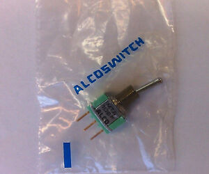 New Spdt On on Pc Mount Mini Toggle Switch Alcoswitch Mta106fpc 1 1437558 5