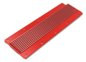 Holley Ls2 ls3 ls7 lsx Finned Valley Cover Gloss Red 241 269
