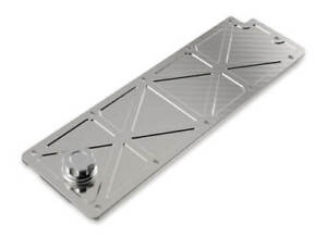 Holley Ls2 ls3 ls7 lsx Valley Cover W Oil Fill Natural Billet 241 360