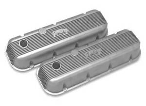 Big Block Chevy Valve Covers Vintage Series Finned Cast Finish 241 300