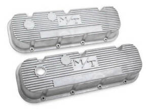 Big Block Chevy M T Valve Covers Vintage Style Finned 241 87