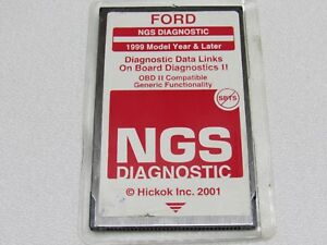 Ford Hickok Ngs Obd Ii Red 1999 And Later Diagnostic Card Version 22 1