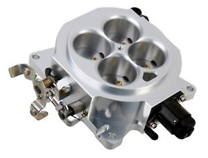 Holley 112 577 Throttle Body 4150 Flange 4 Bbl 1000 Cfm Clear