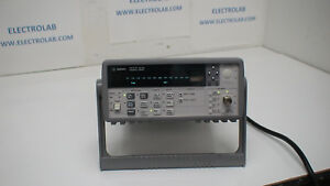Agilent 53181a 0 1 Hz 225 Mhz 10 Digit Frequency Counter