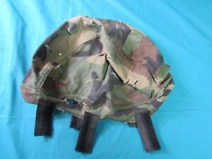 MSA ACH Helmet Cover Size Medium or Large ML Woodland Camo Military Camouflage