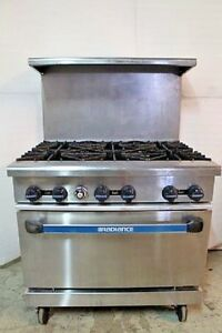 Turbo Air Tar 6 Radiance Gas 6 Burner Stove
