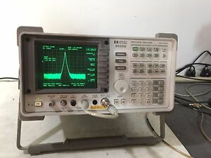 Hp Agilent 8565e Spectrum Analyzer 9 Khz 50 Ghz Fully Tested Options Available