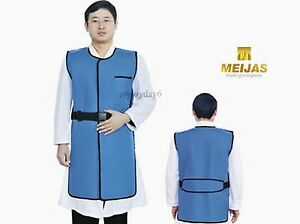 Sanyi New Type X Ray Protection Protective Lead Vest 0 35mmpb Blue Fa05 Middle
