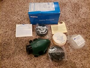 North norton 7500 Series Half mask Respirator With Filters Safety Products