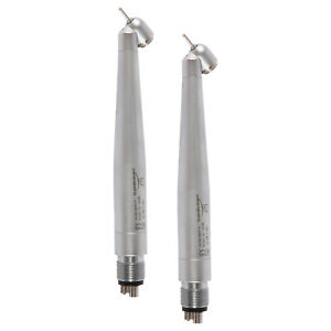 2 dental High Speed Handpiece Nsk Style 45 Degree Push Button Surgical M4 Nh