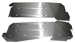Skid Plate side Chassis Body Armor Warn 85640 Fits 2013 Can am Co