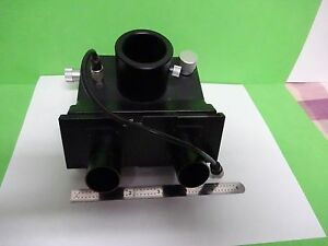 Microscope Part Leitz Germany Head 512737 Ortholux Ii Optics As Is Bin y1 05