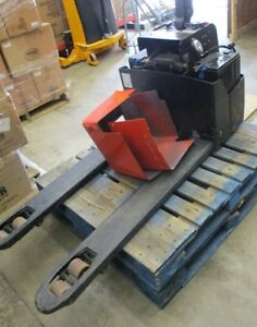 Electric Pallet Jack Uline Model H 2302 3300 Lbs Capacity Local Pickup Only