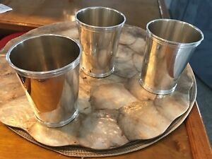 Sterling Silver Mint Julep Cup 8 Cups Total