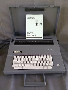 Smith Corona Sl 575 Spell Right Portable Electric Typewriter 100 Working Clean