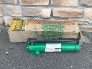 nos Greenlee 767 Hydraulic Hand Pump Used With 7304 7306 7310 800