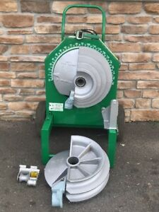 Greenlee 555 Hydraulic Pipe Bender 1 2 2 Rigid Shoe Rollers