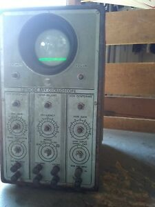 Vintage Cathode ray Oscilloscope Not Found Model