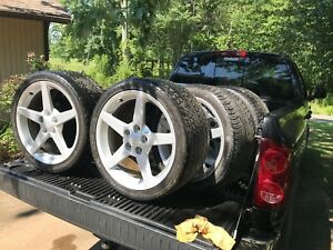 Corvette C6 Wheels And Tires Oem not Aftermarket