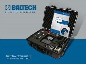 Baltech Vp 3470 expert Industrial Machine Vibration Analyzer dynamic Balancer