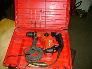 Hilti Rotary Hammer Drill Te7 With Bits Look