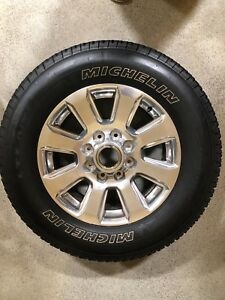 2017 Ford F250 F350 Super Duty 20 Platinum Wheels And Tires Oem Take Off