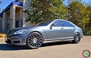 22 Rf16 Staggered Wheels Rims For Mercedes S Class W221 W222 S550 2007 present