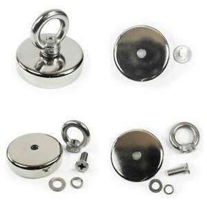 Magnetic Hook By Suitech neodymium Magnet With Countersunk Hole And Eyebolt 75