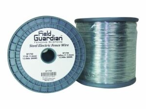Field Guardian 17 guage Galvanized Steel Wire 1 2 mile Free2dayship Taxfree