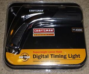 Craftsman Professional Digital Timing Light Brand New 14066 Htf