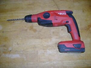Hilti Model Te2 18a Look Drill And Battery With Bit