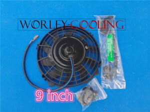 Universal 9 Inch Universal Electric Radiator Fan New With Mounting Kit