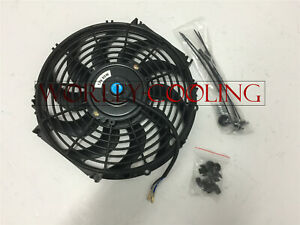 Universal 12 Inch Universal Electric Radiator Fan New With Mounting Kit