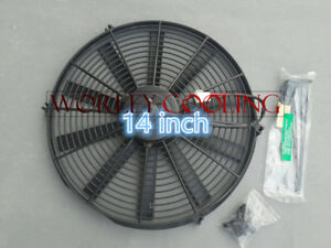 Universal 14 Inch Universal Electric Radiator Fan New With Mounting Kit