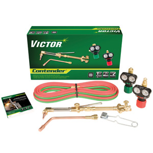 Victor 0384 2050 Contender 540 510 Edge Acetylene Cutting Torch Outfit