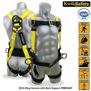 Tree Climbing Harness Construction Back Support Personal Safety Full Body Fall