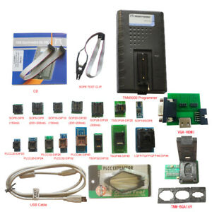 2018 Tnm5000 Usb Eprom Programmer 17pc Adapters support Secured locked Rl78