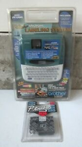 New Brother P touch Pt 1700 Label Printer electronic Labeling System Maker