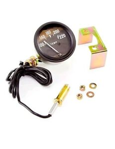 Omix Water Temperature Gauge Kit New Jeep Willys 1948 1956 800205
