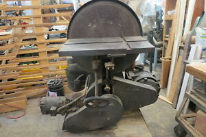 J.A Fay & Egon  combination discspindle sander.