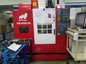 Matsuura Mc 510vg Cnc Vertical Machining Center