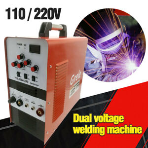 Tig stick Square Wave Inverter Ac dc Aluminum 200a Tig200 Welder Welding Machine